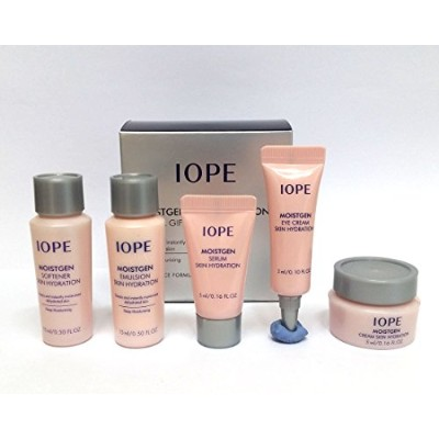 [IOPE] モイスゲンスキンハイドレーション特別ギフトセットキット5アイテム/Moistgen Skin Hydration Special Gift Set Kit 5items/水分・再生...