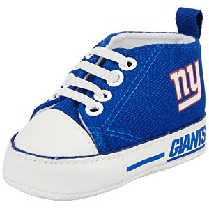 Baby Fanatic Pre-Walker Hightop, New York Giants by Baby Fanatic