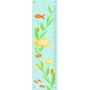 Oopsy Daisy Growth Charts Under The Sea Boy by Meghann O'Hara, 12 by 42-Inch by Oopsy Daisy