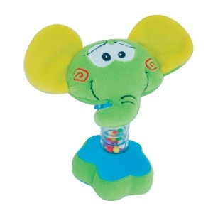 Petite Creations Rattler Toy, Elephant by Petite Creations