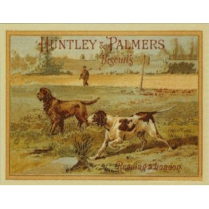 F1233 HUNTLEY & PALMERS BISCUITS NOSTALGIC METAL FRIDGE MAGNET SIGN by SIGNS 2 ALL [並行輸入品]