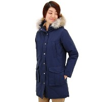 【FW】miusa ミューザ レディース HOODED COAT WITH DOWN LINING&DETACHABLE FUR TRIMMING[NMSU0862]