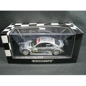 1/43 ミニチャンプス MINICHAMPS Mercedes Benz C Class DTM 2006 Team AMG-Mercedes M.Hakkinen メルセデス ベンツ ハッキネン...