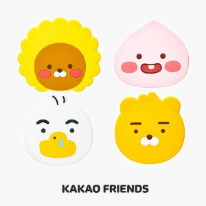 【Kakao friends】リトルフレンズフェース手鏡/Little friends face hand mirror/4種・KAKAO FRIENDS正規品