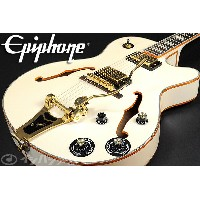 Epiphone / Limited Edition Emperor Swingster Royale Pearl White 【池袋店】