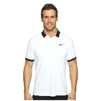 ナイキ メンズ テニス トップス【Court Dry Tennis Polo】White/Black/Cool Grey/Black
