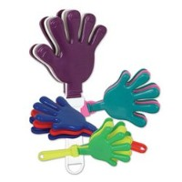 Hand Clappers ( Asstd色) Party Accessory ( 1Count )