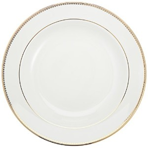 Wedgwood Vera Wang Vera Lace Gold 9-Inch Rim Soup Plate by Wedgwood