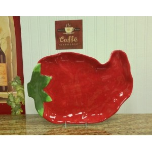 "Western Red Chili Platter 16 – 1 / 2 "" L、"