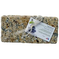 GraniteアクセントHand Crafted Cheese Serving五徳トレイReclaimedストーン S Granite-Trivet-Brown