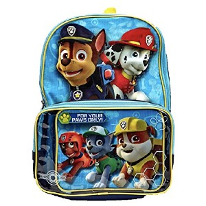 Nickelodeon Paw Patrolバックパック&クリアポケットLunchbox Bag–キッズ