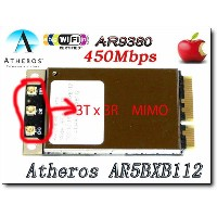 AirDrop対応最大リング450Mbps AR9380 (AR5BXB112 ) Mac Pro/MacBook用AirPort(AirMac) Extreme カード