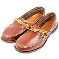 【SALE】【デッドストック】40S MOHICAN MOX MOCCASIN SHOES [US8.5] モカシンシューズ 【中古】