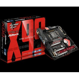 ASRock Fatal1ty X99 Professional Gaming i7(MB3675) IntelX99チップセット搭載ATXマザーボード