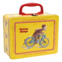 [Schylling]Schylling Curious George Tin Keepsake Box with Latch by CGKB [並行輸入品]