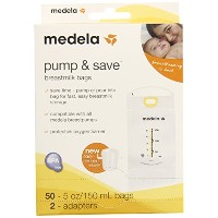 Medela Pump and Save Breast Milk Bags, 50 Count by Medela [並行輸入品]