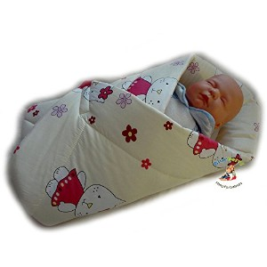 BlueberryShop PLAYMAT Swaddle Wrap Blanket duvet Sleeping Bag for newborn baby shower GIFT PRESENT...