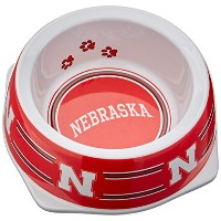Sporty K9 Collegiate Nebraska Cornhuskers Pet Bowl, Small by Sporty K9