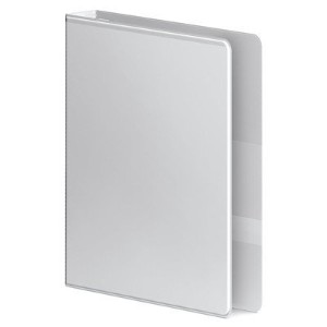 "Professional Plus No-Gap Vinyl View D-Ring Binder, 1-1/2"" Capacity, White (並行輸入品)"