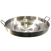 Comal Stainless Steel 22 Acero Inoxidable Concave Outdoors Stir Fry Heavy Duty Comal Para Freir by...