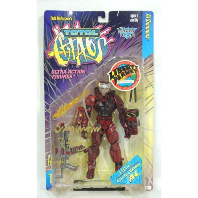 ULTRA-ACTION FIGURETOTAL GHAOS SERIES1LIBERTY PLANETイベント360個限定サイン入りRED AL・SIMMONS