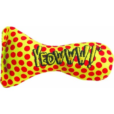 Yeowww Stinkies Catnip Toy, Dots by Yeowww!