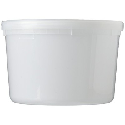 Extreme Freeze Reditainer 64 oz. Freezeable Deli Food Containers w/ Lids - Package of 8 - Food...