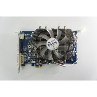 Galaxy GeForce 7300GT 128MB DDR3 PCIe x1 ZALMAN FAN VF2000装備 [GF P73GT-X1/128D3] 【中古】【送料無料セール中! ...