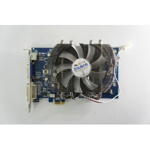 Galaxy GeForce 7300GT 128MB DDR3 PCIe x1 ZALMAN FAN VF2000装備 [GF P73GT-X1/128D3] 【中古】【全品送料無料セール中!】