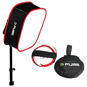 Kamerar D-fuse DF-1M LED Light Panel Softbox: Collapsible, Diffuser Foldable Portable w/ Strap...