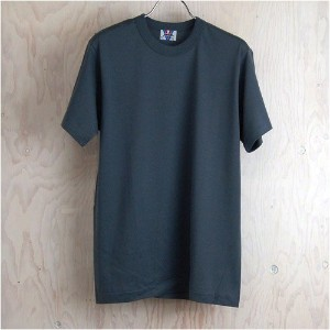01 Tシャツ ダークグレイM(久米繊維)