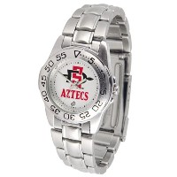 San Diego State Aztecs GamedayスポーツLadies ' Watch with aメタルバンド