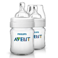 Avent Classic+ Feeding Bottle 125ml - 2 pack