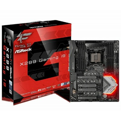 ASRock Fatal1ty X299 Professional Gaming i9(MB3937) IntelX299チップセット搭載ATXマザーボード