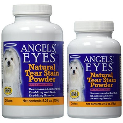 Angels' Eyes Natural Tear Stain Elimination and Remover, Chicken Flavor, 225 gram by Angel's Eyes