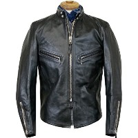 FREEWHEELERS SPEED MASTER SUPERIOR LEATHER TOGS LATE 1940-1950s MOTORCYCLE JACKET SINGLE TYPE HORSE...