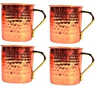 Streetクラフト銅Moscow Mule Beer Mug–100% Pure copper-元Vodka and Ginger Beer Drinkマグカップ16オンス 16オンス...