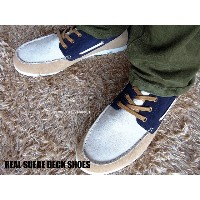 LECRIBE REALSUEDE DECK SHOES【RCP】