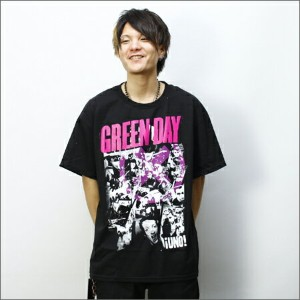 ◎GREEN DAY Tシャツ PICTURE  黒