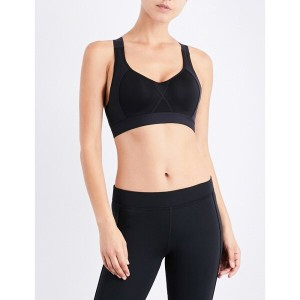 アディダス adidas by stella mccartney レディース インナー・下着 ブラジャー【cmmttd x stretch-jersey sports bra】Black