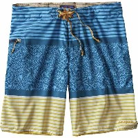 パタゴニア メンズ 水着 水着 Patagonia Stretch Planing 20in Board Short - Men's Jellyfish Stripe/Big Sur Blue