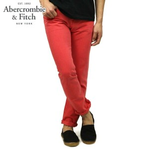 【15%OFFセール 4/21 10:00~4/24 09:59】 アバクロ Abercrombie&Fitch 正規品 メンズ カラースキニージーンズ A&F SKINNY JEANS...