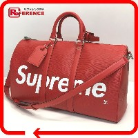 LOUIS VUITTON ルイ・ヴィトン M53419 17aw Supreme Louis Vuitton KEEP.45 BA.SP EPI DWT R キーポル・バンドリエール45...
