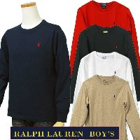 POLO by Ralph Lauren Boy'sベーシック 長袖 T シャツ【2017-Fall/NewColor】【ラルフローレン ボーイズ】#323525052、323615474...