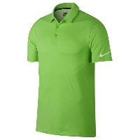 ナイキ メンズ ポロシャツ トップス Men's Nike NK Dry Textured OLC Golf Polo Green Strike/White/White