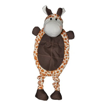 Patchwork Pet Wild Giraffe 23-Inch Squeak Toy for Dogs by Patchwork Pet