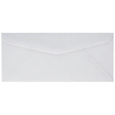 Laser & Inkjet Envelope, Traditional, #10, White, 500/Box (並行輸入品)