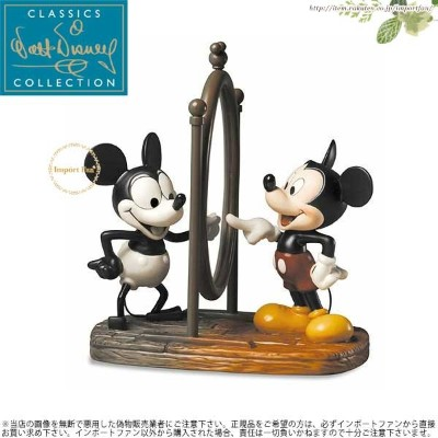 WDCC ミッキーマウス 今と前 Mickey Then and Now 1226333 □
