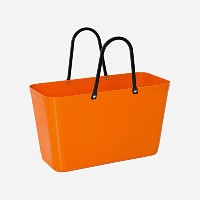 Hinza Reusable Grocery Toteバッグスウェーデンから Big 15 Liters/33# オレンジ