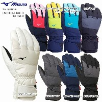 ★MIZUNO〔ミズノ スキーグローブ〕 2018 FABRIC 5FINGER GLOVES Z2JY5506【TIME】